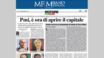 MOTORE ITALIA – PMI, è ora di aprire il capitale