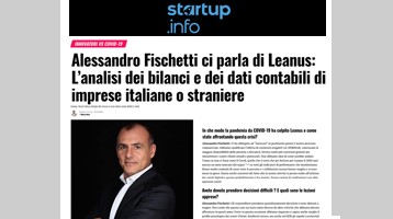 Alessandro Fischetti ci parla di Leanus: L'analisi dei bilanci e dei dati contabili di imprese italiane o straniere